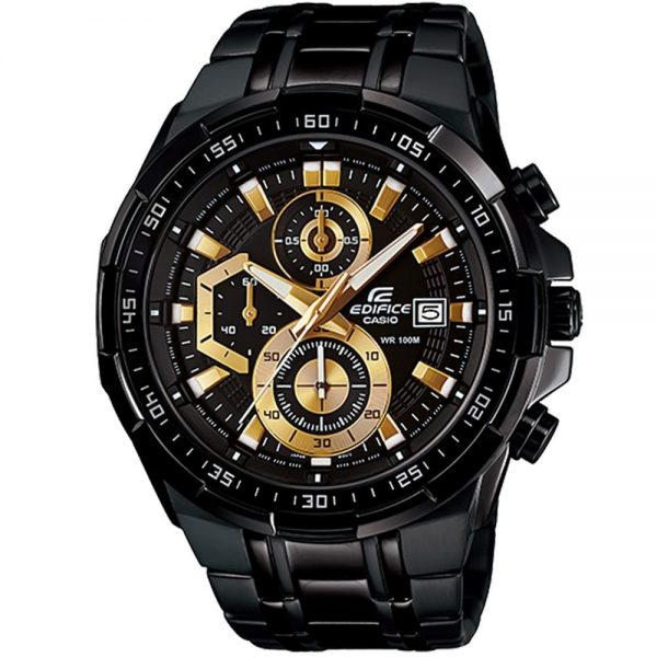 Casio Edifice Watch For Men EFR-539BK-1AV