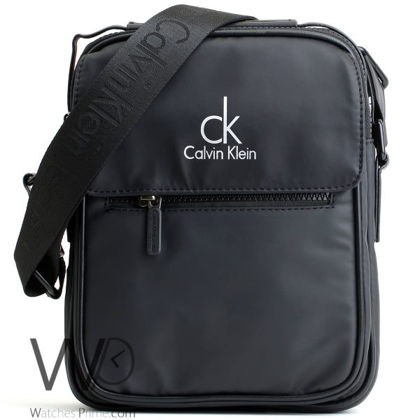 crossbody Calvin Klein black bag men ck