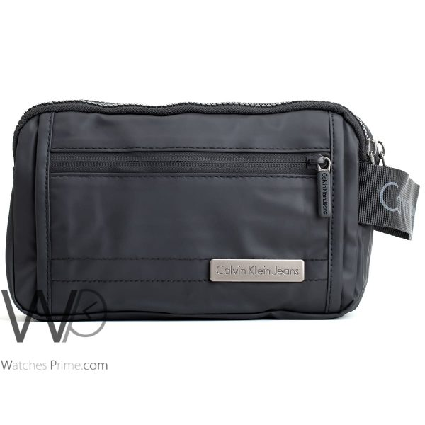 handbag Calvin Klein black washbag men ck