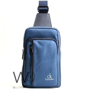 shoulder Calvin Klein Blue bag men ck