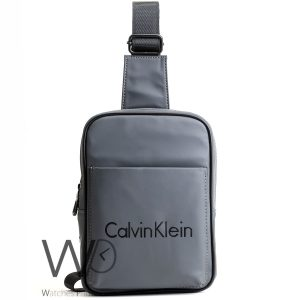 shoulder Calvin Klein gray bag for men ck