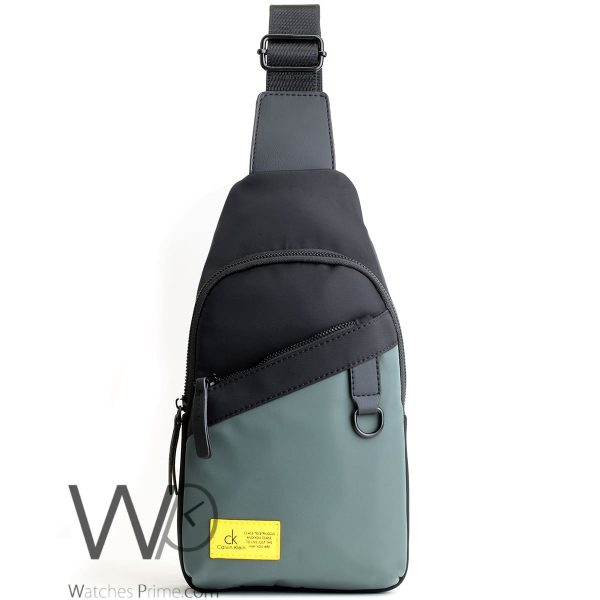 shoulder Calvin Klein green Black bag men ck cease to struggle and you cease to live just the way you are